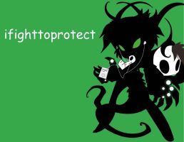 ifighttoprotect by KaidaTheDragon