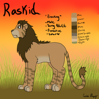 Raskid Reference Sheet by The-Smile-Giver