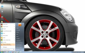 MINI-EAGLE-2011 windows 7 theme by windowsthemes
