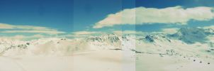 Sectioned Mountin Panoramic by EnduringEyeliner