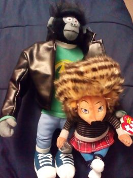 Sing my ash plush with Johnny by aliciamartin851