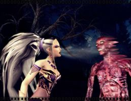 Sindel Scream fatality by deexie