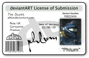 deviantLICENSE by Phlum