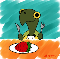 Earl of Twinings Demands More Strawberries by Aozame32