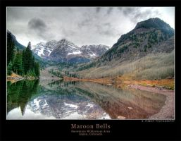 Maroon Bells in HDR by rpieratt