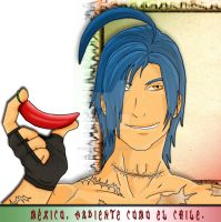 Hetalia mexico hot as chile by chaos-dark-lord