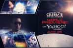 Poster: Richie Luna - Celebrate on Yahoo Music by Vizard-Design