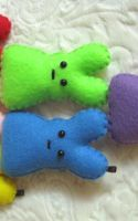 Rainbow Peep Triangle by P-isfor-Plushes