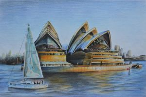 Sydney Opera House by YKChiropter