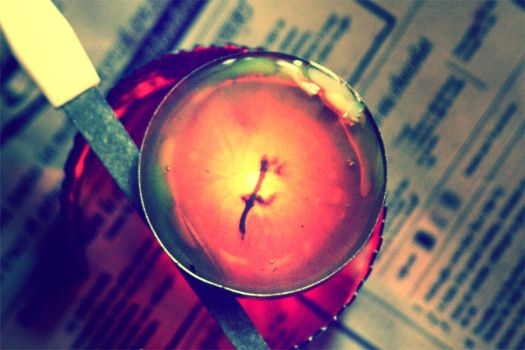 Candle, Wax and Lime by Scharx