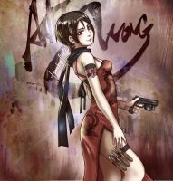 Ada Wong by Artkeyhoon