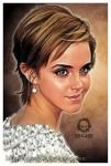 Emma Watson Cartoon by craneo242