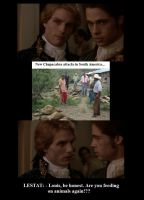 Lestat, Louis and the chupacabra by zitv88