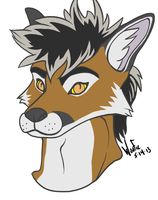 Lazarus Headshot by DaBigBadWulf