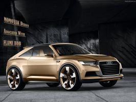 Audi Coupe Concept by MOMOYAK and FLAME BOY by MOMOYAK
