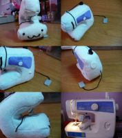 Sewing Machine... Plushie by PlushRayseTiger