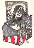 Captain America WW 2 by DenisM79
