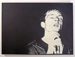 Ian Curtis by houseofREPEAT