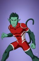 Earth-27 Beast Boy [Overt] by Roysovitch