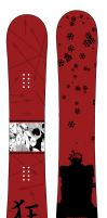SnowboardDesign1 - Vash by Insidious-Ink