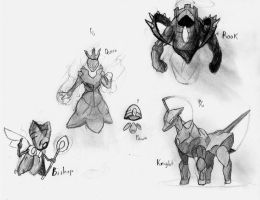 Chess Concept  WIP by buddyivy