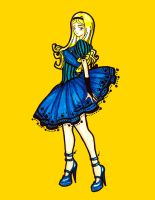 Blue Alice by centauros-graphic