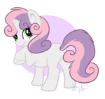 Sweetie Belle by Amathaze