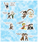 Doctor Who: Chibi Doctor Fight by PrincessHannah