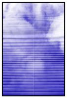 clouds in my blinds by Kaleena127