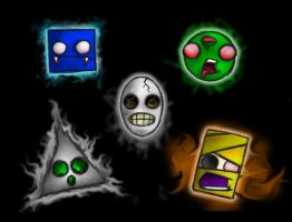 Undead Shapes by uncle-monkey