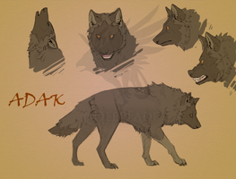 Adak sketches by DeepFade