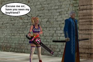 Juliet Starling meets Vergil by Jared789