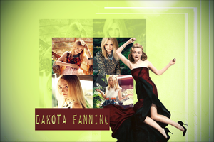 Dakota Fanning wall by dia-m