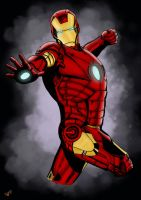 Iron Man Color by Psych93