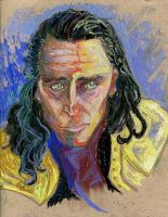 Fauvist Loki by AmberPalette