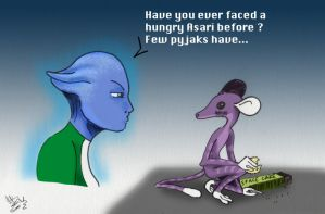 Ever faced an asari? by CePheala