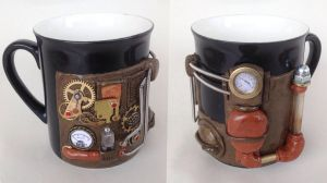 Steampunk Mug by emoshus