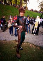 How to Train Your Dragon 2 - Hiccup Cosplay by lowlightneon