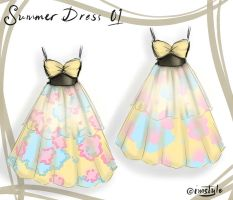 Summer Dress 01 by imStyle