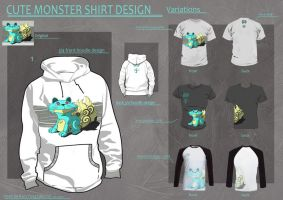 CUTE Monster DESIGN challange by denzal