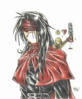Vincent Valentine by Lunore
