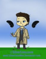 Cas with a Windwheel by TheFabHawk