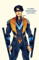 Classic Nightwing (outfit remake) by Maby-chan