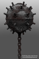 Underwater mine - Procedural Rust v1.0 by JuanJoseTorres