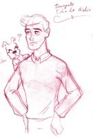 Tintin Le Bishie by LadyKeane