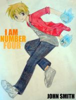 John Smith - I AM NUMBER FOUR by AlexandriatheWolf