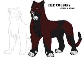 The Cousins WIP by CreatureCreatingBabe