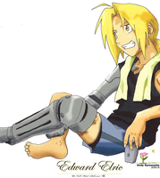 Edward Elric Drawing 3 - 2005 by andys184