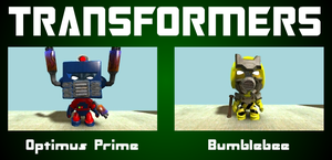 LittleBigPlanet Transformers by midnightheist