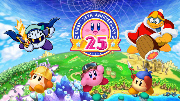 Kirby's 25th Anniversary by sonicmechaomega999